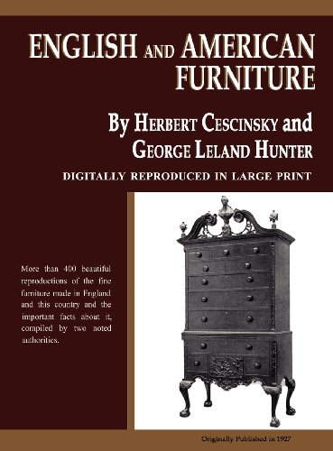 English and American Furniture 9780983578499