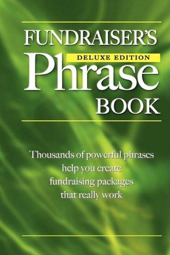 Fundraiser's Phrase Book 9780981168906