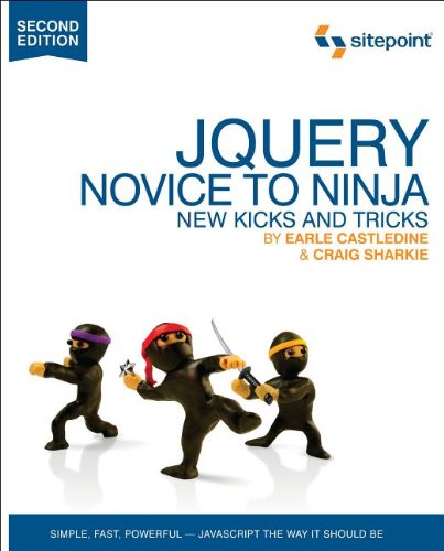 Jquery: Novice to Ninja 9780987153012
