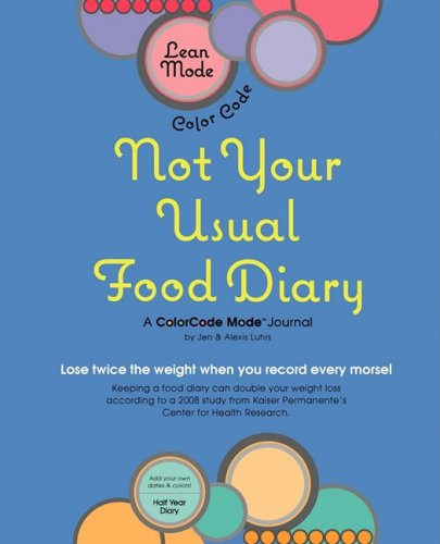 Lean Mode, Color Codenot Your Usual Food Diary 9780982140604