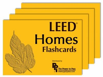 Leed Homes Flashcards 9780980163865