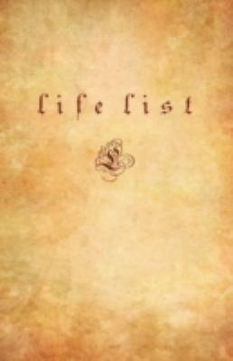 Life List 9780980211344