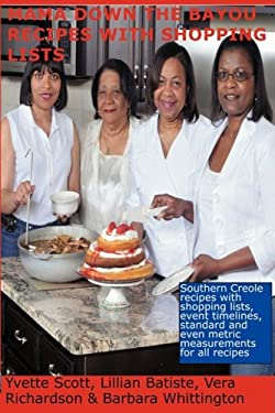 Mama Down the Bayou Recipes with Shopping Lists 9780982008003