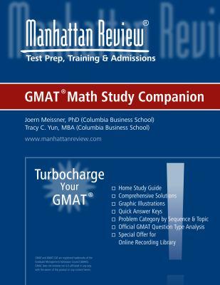 Math Study Companion - Turbocharge Your GMAT 9780982432419