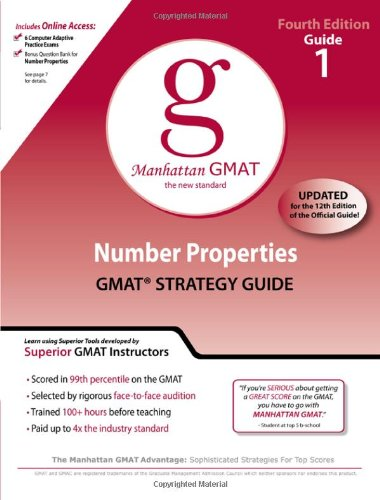 Number Properties GMAT Preparation Guide 9780982423844
