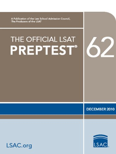 The Official LSAT Preptest 62 9780982148785