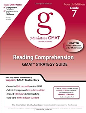 Reading Comprehension GMAT Preparation Guide