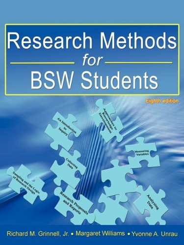 Research Methods for Bsw Students (8th Ed.) 9780981510040