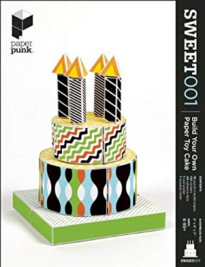 Sweet001: Build Your Own Paper Toy Cake 9780983618041
