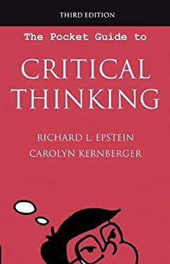 The Pocket Guide to Critical Thinking, 3rd Edition 9780981550756