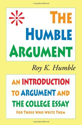 The Humble Argument 9780981818139