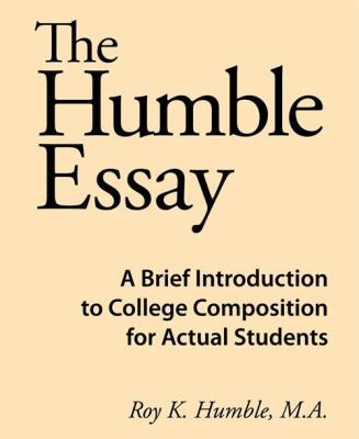 The Humble Essay 9780981818108