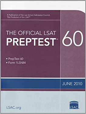 The Official LSAT Preptest 60 9780982148761