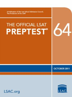 The Official LSAT Preptest 64 9780984636020