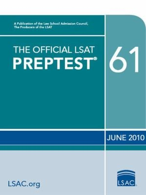 The Official Preptest 61 9780982148778