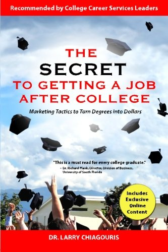 The Secret to Getting a Job After College 9780982765425