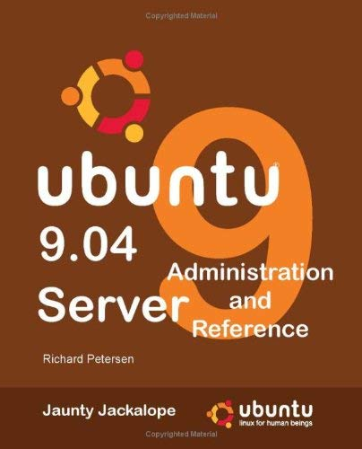 Ubuntu 9.04 Server: Administration and Reference 9780982099858