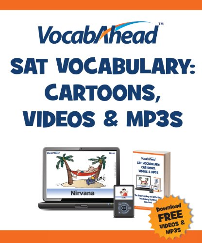 Vocabahead SAT Vocabulary: Cartoons, Videos & Mp3s 9780984313518