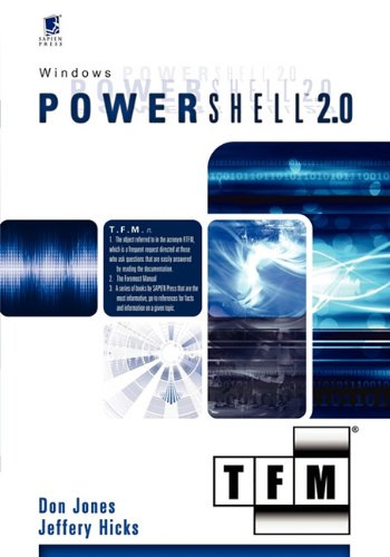 Windows Powershell 2.0 9780982131428