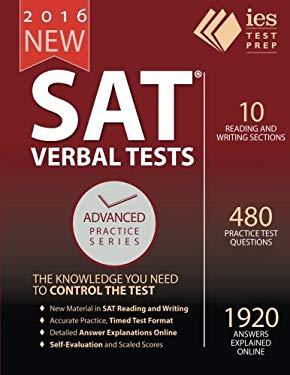 New 2016 SAT, Five Verbal Tests