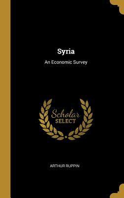 Syria: An Economic Survey
