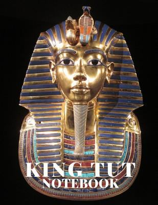 King Tut Notebook: 8.5x11 110 College Ruled Composition Book
