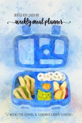 BENTGO KIDS LUNCH BOX - Weekly meal planner for school and summer camp lunches: This lunch journal is the perfect tool to create snacks and remember .