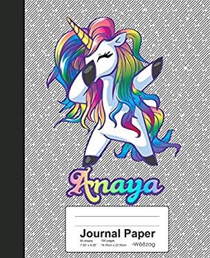 Journal Paper: ANAYA Unicorn Rainbow Notebook (Weezag Journal Paper Notebook)
