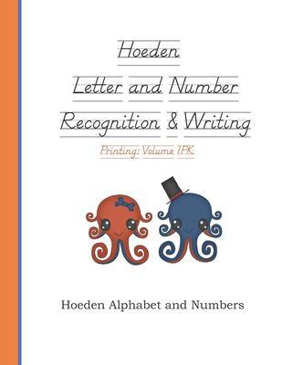 Hoeden Letter and Number Recognition & Writing: Volume 1PK