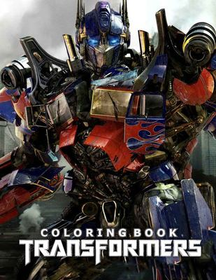 Transformers Coloring Book: Great 22 Illustrations for Kids and Adults