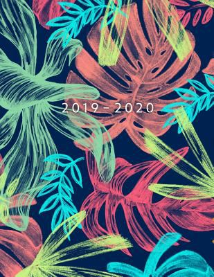 2019 - 2020: Weekly Planner Starting May 2019 - Dec 2020   8.5 x 11 Dated Agenda   Appointment Calendar   Organizer Book   Soft-Cover Tropical