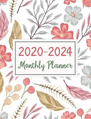 2020-2024 Monthly Planner: Five Years Monthly Planner (60 Months Calendar) For To Do List Journal Notebook | Academic Schedule Agenda Logbook Or ... D