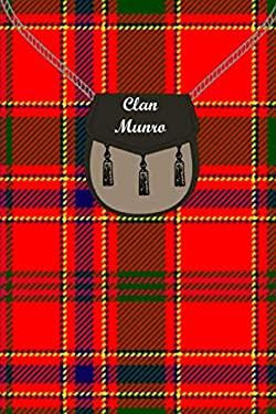 Clan Munro Tartan Journal/Notebook