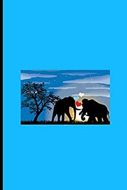 "Elephant and Mammoth: Elephant and Mammoth Perfect Lined Notebook/Journal (6""x9"")"