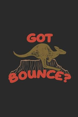 "Got Bounce: Kangaroos Notebook, Blank Lined (6"" x 9"" - 120 pages) ~ Animal Themed Notebook for Daily Journal, Diary, and Gift"