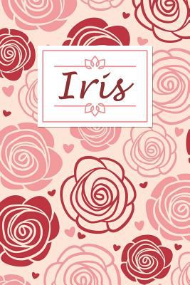 Iris: Personalised Notebook / 120 Lined Pages / Perfect for journaling and writing notes.