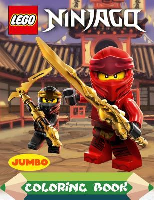 Lego Ninjago Coloring Book: Lego Ninjago Jumbo Coloring Book Fod Kids, Ninja Coloring Book