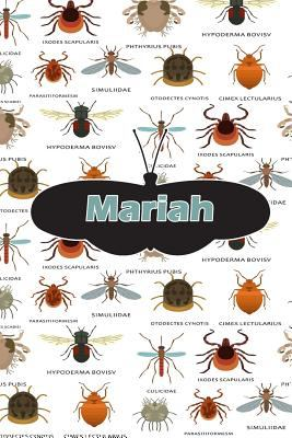 Mariah: Insect Themed Comprehensive Garden Notebook with Garden Record Diary, Garden Plan Worksheet, Monthly or Seasonal Planting Planner, Expenses, C