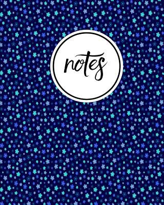 Notes: Daisy Flower Blue Turquoise - Cute Writing Notebook For School, Home & Office - [Classic]