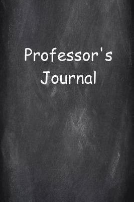 Professor's Journal Lined Journal Pages: Graduation Theme Back To School Progress Journals Notebooks Diaries (Notebook, Diary, Blank Book)
