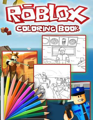 Roblox Coloring Book: Roblox Jumbo Coloring Book For all Fans and Kids Ages 4-8 With High Quality Images