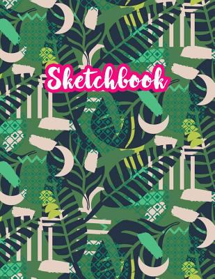 Sketchbook: Cute Drawing Note Pad and Sketch Book for Kids, Girls and Adult - Large 8.5 x 11 Matte Cover with White Interior (Perfect for Sketching, .