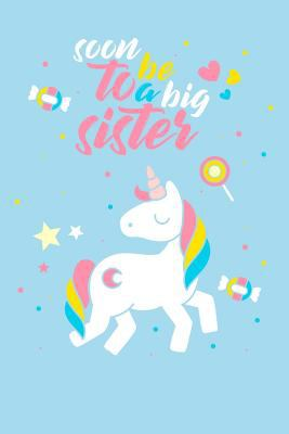 """Soon to be a big sister: 100 handwriting paper Pages Large Big 6"""" x 9""""  for school boys, girls, kids and pupils princess and prince"""