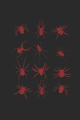 """Spider Collection: Spiders Notebook, Blank Lined (6"""" x 9"""" - 120 pages) ~ Animal Themed Notebook for Daily Journal, Diary, and Gift"""