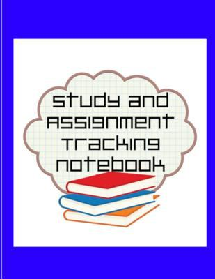 Study and Assignment Tracking Notebook
