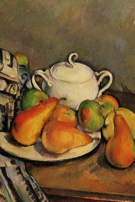 Sugarbowl, Pears and Tablecloth by Paul Cezanne Journal