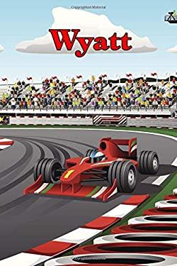"Wyatt: Racecar Blank Comic Book Notebook Journal book 120 pages 6""x9"""