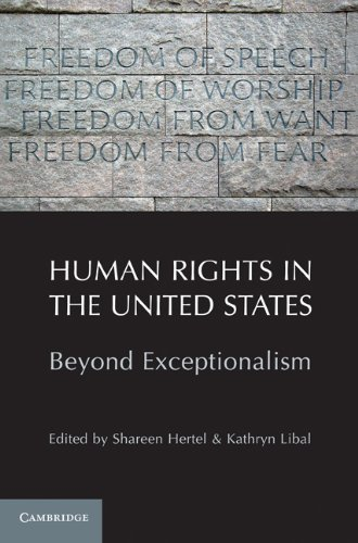 Human Rights in the United States: Beyond Exceptionalism 9781107400870