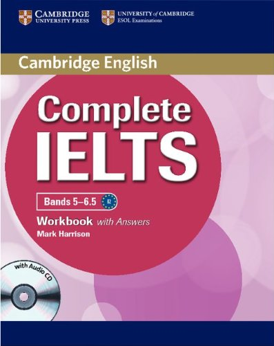 Complete Ielts Bands 5-6.5 Workbook with Answers with Audio CD 9781107401976