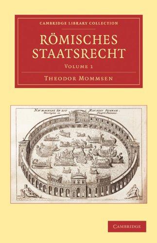 Romisches Staatsrecht 3 Volume Paperback Set 9781108009942